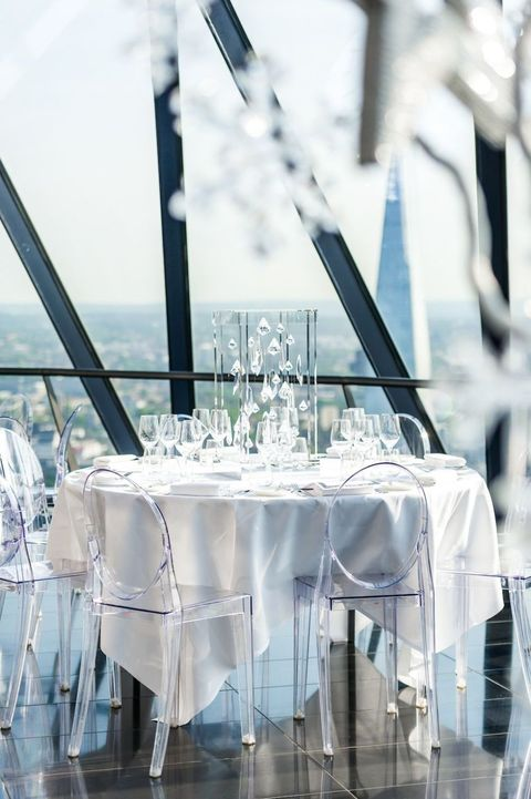 Searcys In The Sky With Diamonds, Gherkin, London