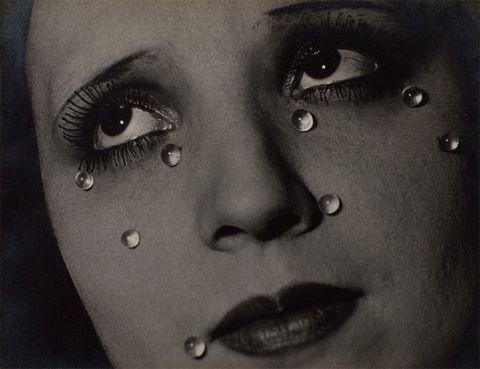 Man Ray Glass Tears, Elton John Collection, Tate Modern, London
