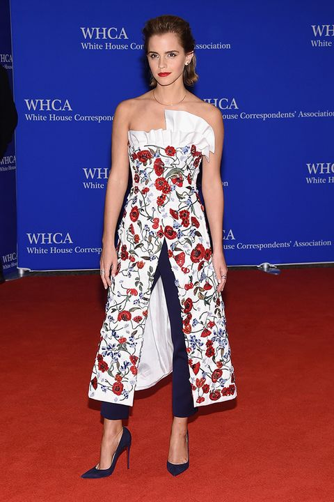 Emma Watson at the White House Correspondent Dinner