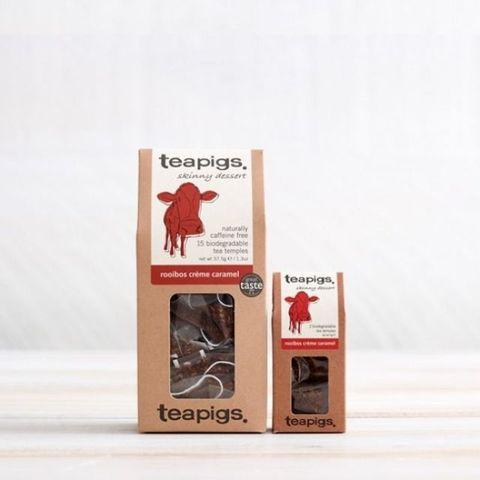 Alternative to coffee - Teapigs Rooibos Creme Caramel