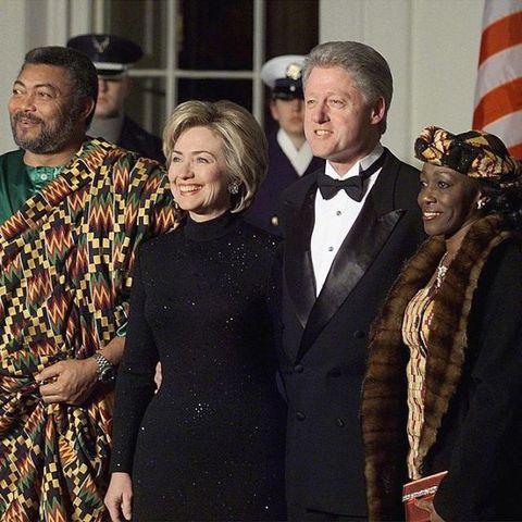 Nana Rawlings: The First Woman To Run For President In Ghana