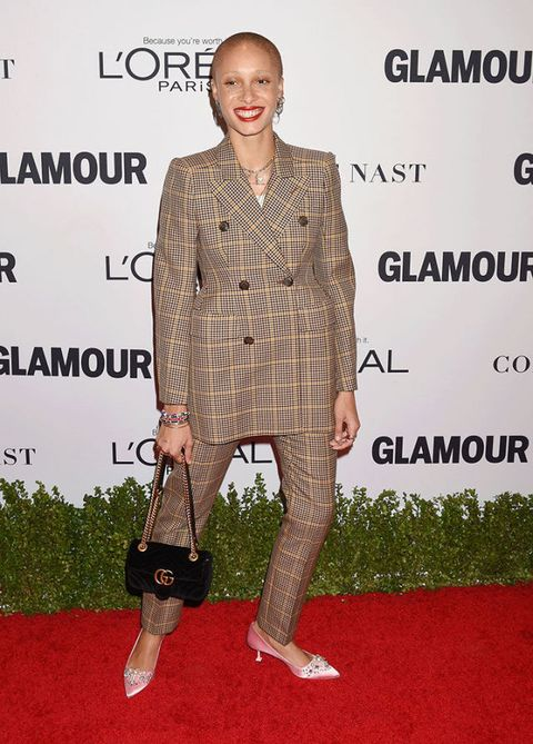 Adwoa Aboah in Balenciaga at Glamour's Women of the Year