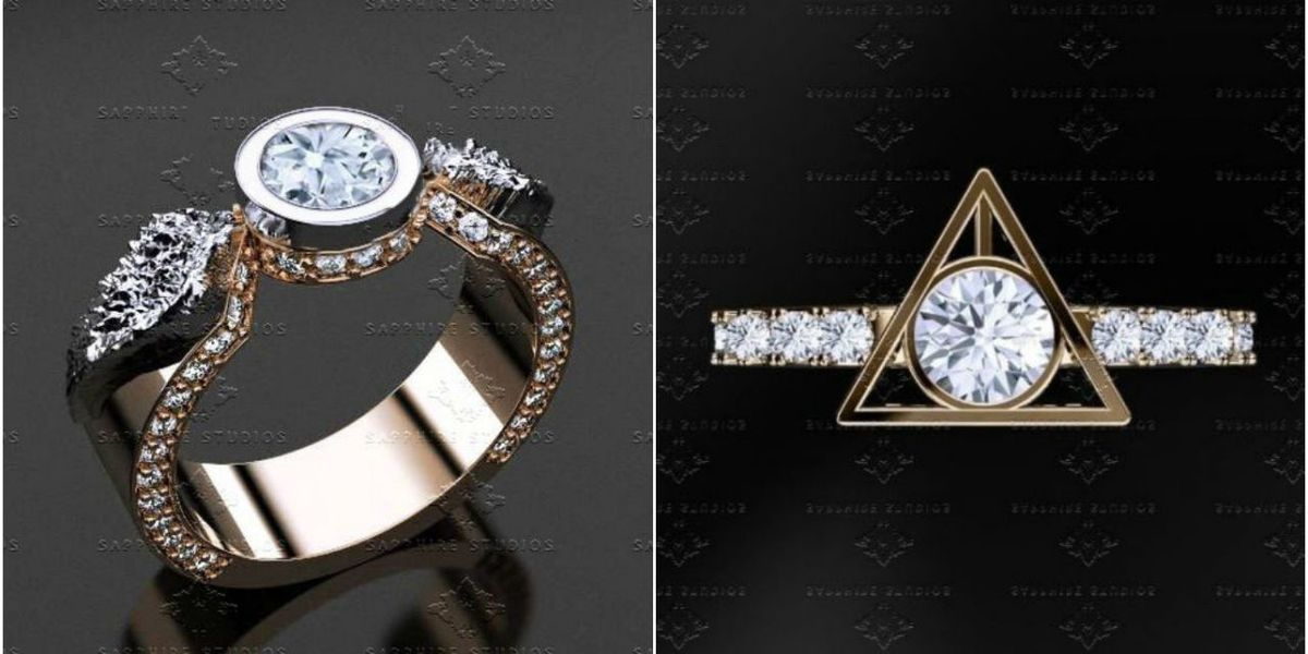 The 'Harry Potter' Engagement Rings That Will Add Magic To Your Wedding Day