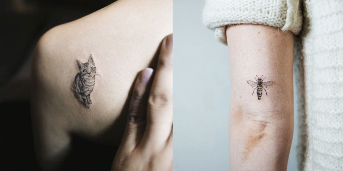 571310eba 16 Tiny Animal Tattoos: Delicate Animal Tattoos For Inspiration