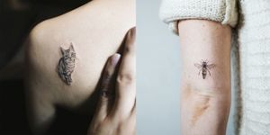 Tiny tattoos: Animals