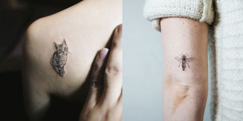 16 Tiny Animal Tattoos Delicate Animal Tattoos For Inspiration - Tattos-animales