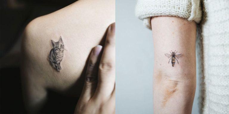 16 Tiny Animal Tattoos: Delicate Animal Tattoos For