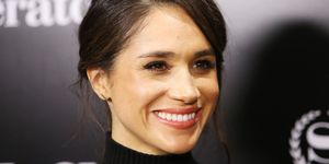 Meghan Markle smiling | ELLE UK