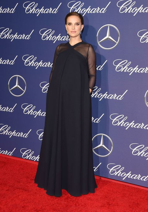 b201df53c4e Stylish Pregnant Celebrities  Maternity Fashion On The Red Carpet