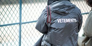Vetements rain coat