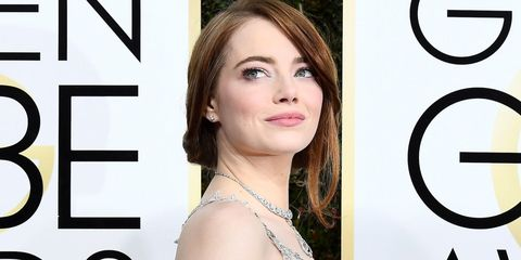 Emma Stone Golden Globes 2017   ELLE UK