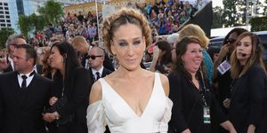 Sarah Jessica Parker nod to Carrie Fisher at Golden Globes 2017