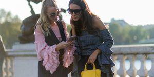 Friendship messages at fashion week   ELLE UK