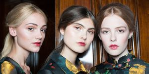 Models backstage fashion week | ELLE UK