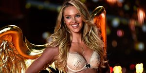 Candice Swanepoel on VS runway | ELLE UK