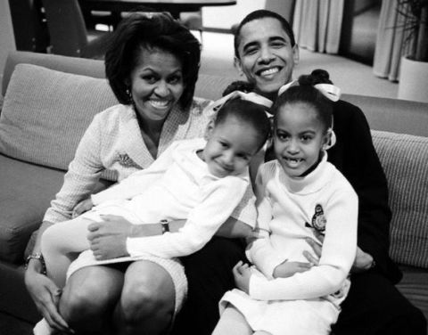 The Obamas | ELLE UK