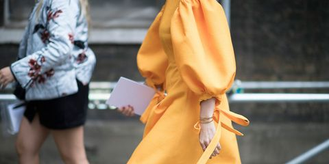Human leg, Joint, Orange, Amber, Wrist, Street fashion, Tan, Waist, Peach, Calf,