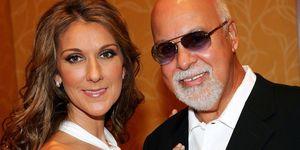 Celine Dion and husband | ELLE UK