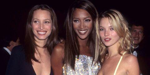 Christy Turlington, Naomi Campbell, Kate Moss | ELLE UK