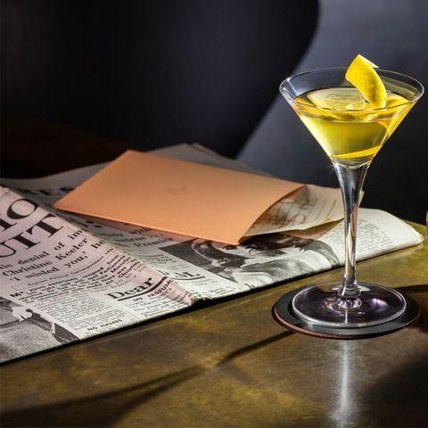 Martini, Disrepute members' bar Soho , London