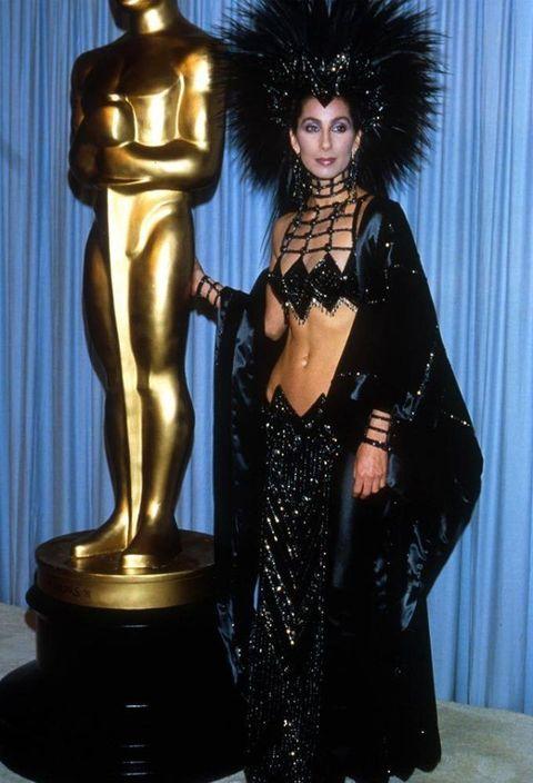 <p>Cher in Bob Mackie, 1986</p>