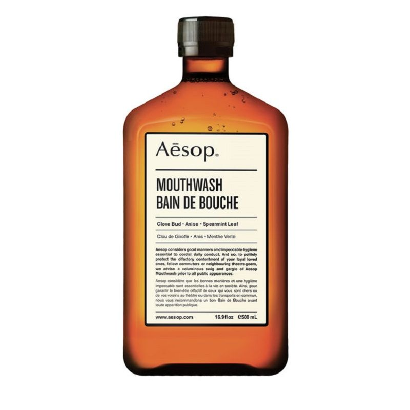Aesop Mouthwash 24 January 2017