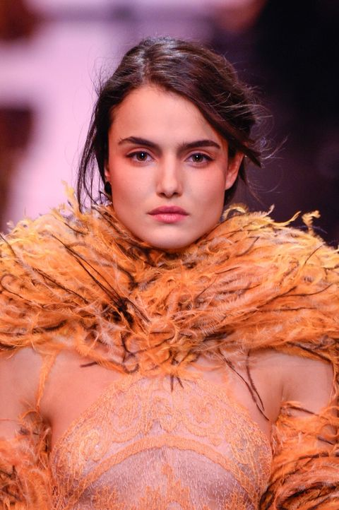 Giorgio Armani Prive backstage beauty, Haute Couture Fashion Week, 23 January 2017