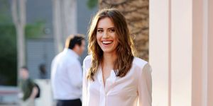 Allison williams from Girls HBO series, exclusive ELLE interview