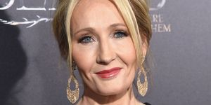 J K Rowling on red carpet | ELLE UK