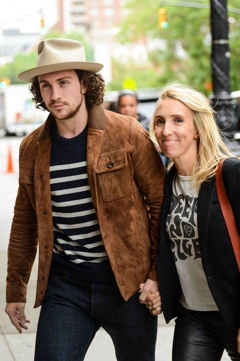 Aaron Taylor Johnson Reveals What He S Really Thinking When People Ask About His Marriage S 24 Year Age Gap