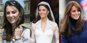 Kate Middleton's hair evolution: from university to now