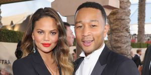 Chrissy Teigen and John Legend | ELLE UK