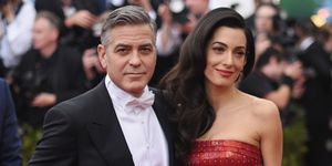 Amal and George Clooney | ELLE UK