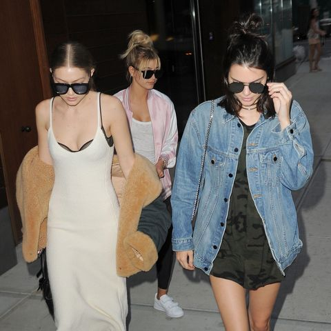 Kendall Jenner Reveals How Gigi Hadid And Hailey Baldwin Helped Choose Her Most Controversial Outfit