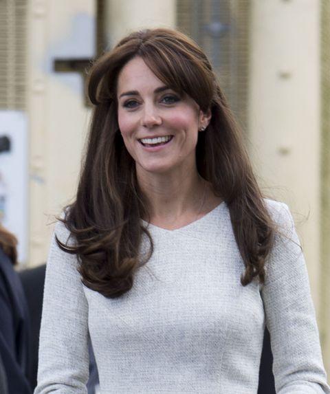 Kate Middleton Best Hairstyles - Fringe