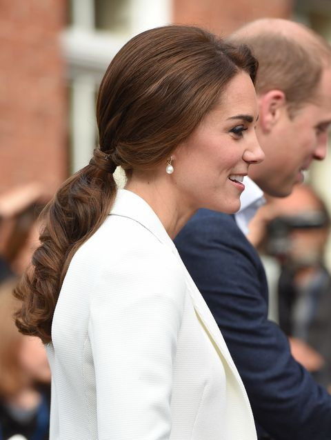 Kate Middleton Best Hairstyles - Low updo