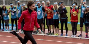Kate Middleton running | ELLE UK