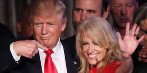 Donald Trump and Kellyanne Conway | ELLE UK