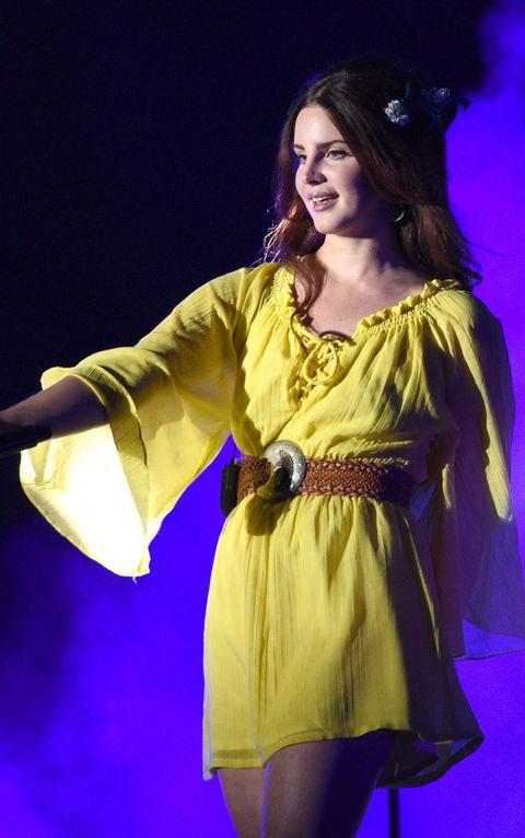 Lana Del Rey's best red carpet looks - Lana Del Rey style file