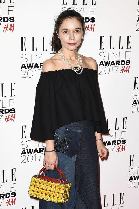 Orsola De Castro wins H&M Conscious award at ELLE style awards 2017