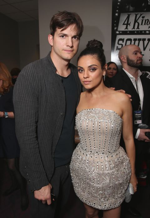 Mila Kunis and Ashton Kutcher | ELLE UK