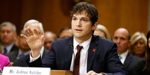 Ashton Kutcher at Congress | ELLE UK