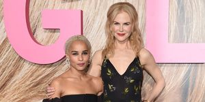 Nicole Kidman and Zoe Kravitz at HBO's Big Little Lies launch| ELLE UK