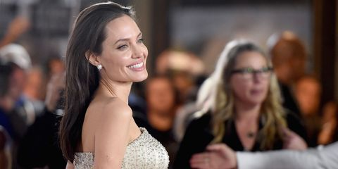 Angelina Jolie's Style File - best red carpet looks from Angelina Jolie