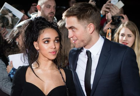 FKA Twigs and Robert Pattinson at Premiere