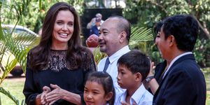 Angelina Jolie in Cambodia | ELLE UK