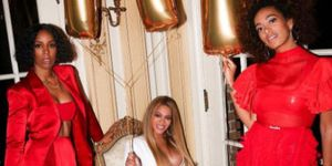 Beyonce, Solange, Kelly Rowland at Grammy After Party | ELLE UK