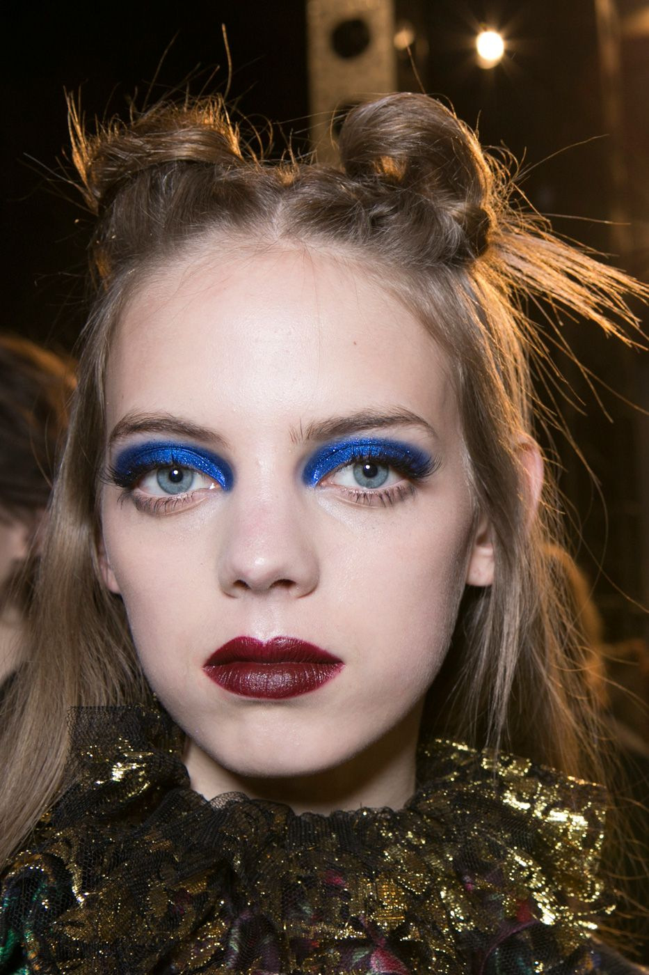 Anna Sui Autumn Winter 2017 NYFW Beauty