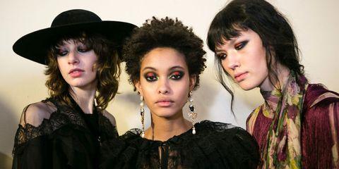 Alberta Ferretti AW17 Beauty