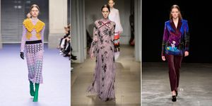 London fashion week trend purple | ELLE UK